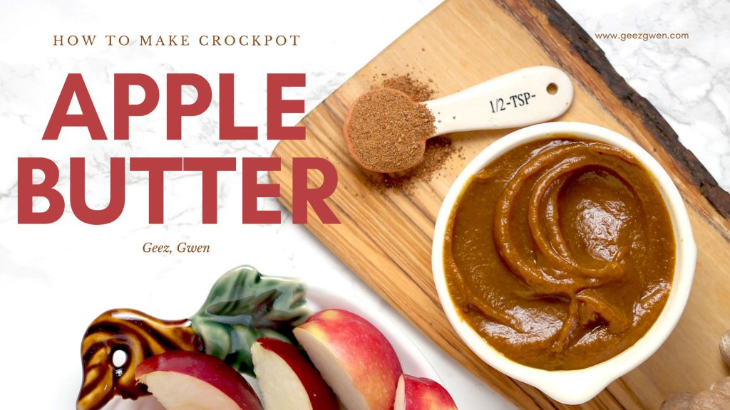How to make crockpot apple butter - Apple Butter Spread Recipe