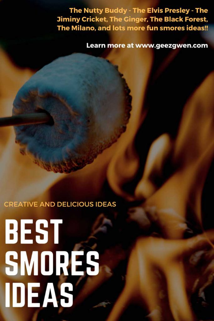Fun and unique smores recipes for bonfire gatherings and family fun!