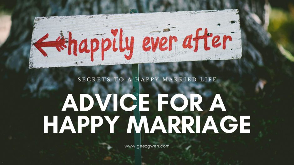 Secrets for a happy marriage - tips and advice for married couples.
