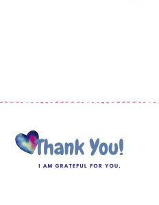 Teaching Your Kids Gratitude Bundle - Printable Thank You Note