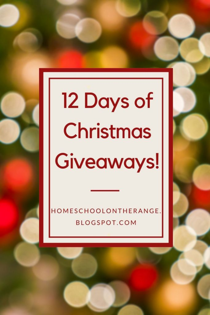 Christmas Giveaway from Homeschool Bloggers Collective
