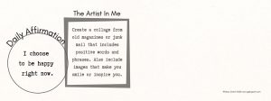 Art Activity for building self-confidence