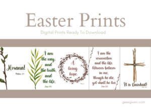 Digital Easter Prints
