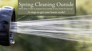 Spring Cleaning Outside