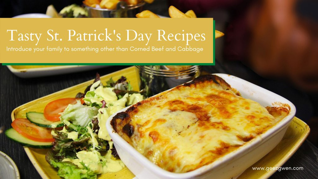 St. Patrick's Day Recipe Collection - Irish Main Dishes, Side Dishes, and Desserts perfect for St. Patrick's Day Celebrations.