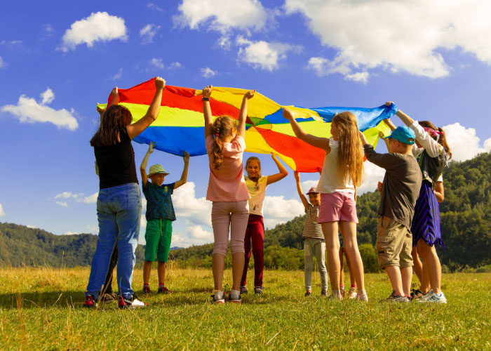 Summer camp offers opportunities for new friendships and lots of fun.