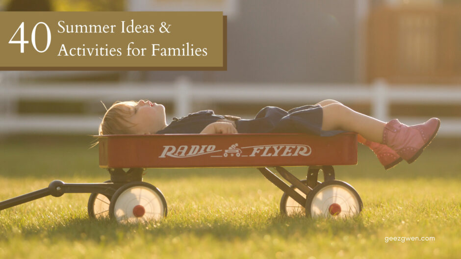 Fun Summer Activities for Kids and Families
