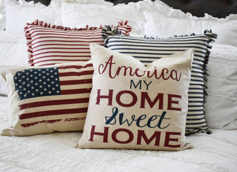 Patriotic Pillow Covers from OurTraditions
