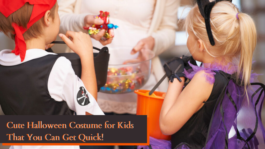 Cute Halloween Costumes for Kids That You Can Get Fast